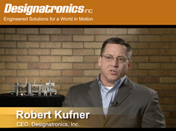 Designatronics is meeting the challenges in today's manufacturing industry