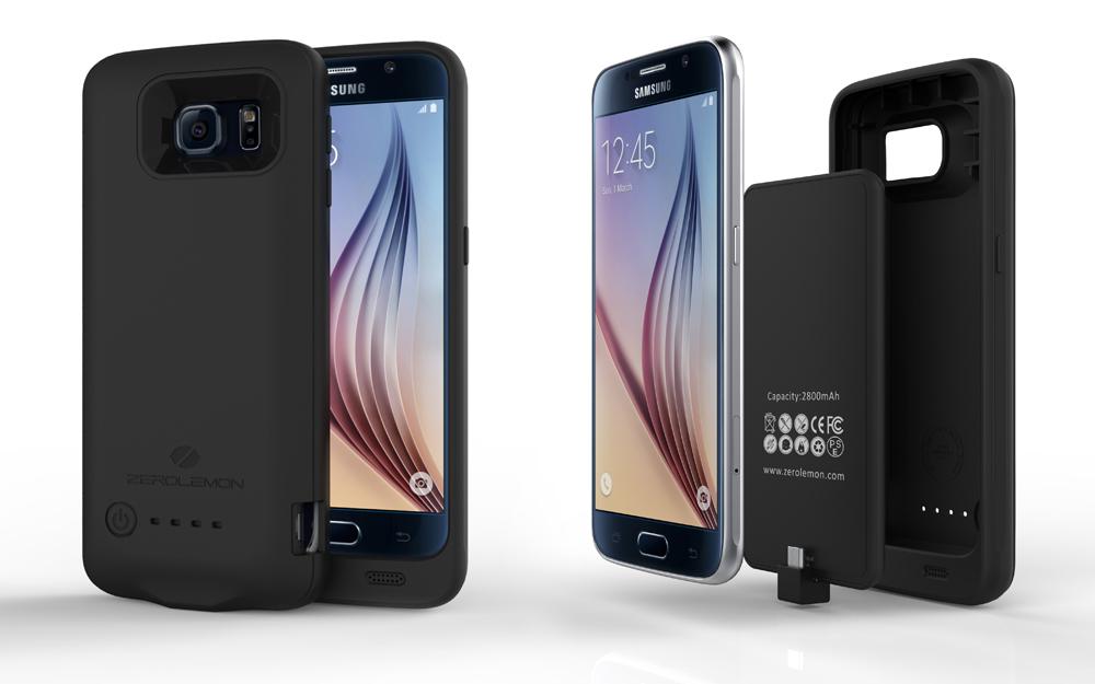 super popular 1d03c b6b4c ZeroLemon Galaxy S6 2800mAh Slim Power Battery Case Available on 15 ...