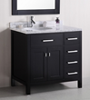 London 36″ Vanity DEC076-D from Design Element