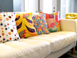 Colorful pillows from Shibumi  Home