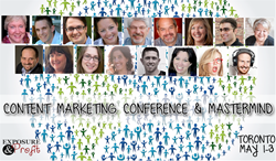 Toronto Content Marketing Conference Speaker Line Up