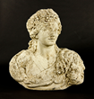 """18th C. French Carved Limestone Figure """"L'Automne"""""""