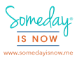 trademark, logo, someday is now
