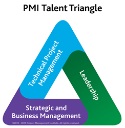 The ideal skill set — the Talent Triangle — is a combination of technical, leadership, and strategic and business management expertise.