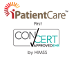 iPatientCare Announced as the First ConCert by HIMSS™ Certified Ambulatory EHR underthe Interoperability Testing and Certification program