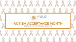 JNCS Autism Acceptance Month 2015