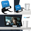 Skycast Solutions Unveils Removable Tablet and Smart Phone Holder for...