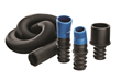 "The kit includes also includes a flexible 11⁄2"" inside-diameter hose that expands from 3 to 15 feet long."