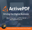 ActivePDF Enters a Three Year Sponsorship with the Anaheim Ducks