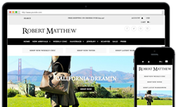 Robert Matthew Fashion launches new website to help customers shop for handbags, jewelry and fashion accessories!