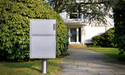 You're Boxillion sits out the front of your house and keeps your parcels safe while you're not around!