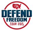 Concerned Veterans for America's 23-city Defend Freedom tour