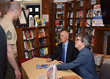 New York Mets General Manager Sandy Alderson and Author Steve Kettmann...