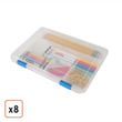 6x9x1 Craft Case by Iris, 8-Pack, $50.99