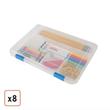 6x9x1 Craft Case by Iris, 8-Pack, $50.99
