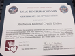 Andrews Federal Supports Tri-Border Volunteer Recognition Ceremony