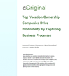 eOriginal Releases White Paper Discussing Profitability Driven by...
