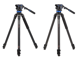 S7 Video Tripod Aluminum and Carbon Fiber Kits