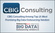 CBIG Consulting Highlighted Among 25 Most Promising Big Data Companies