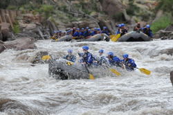 Arkansas River Rafting in Colorado