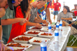 The Pensacola Crawfish Festival offers a wide range of Cajun fare such as crawfish po-boys, crawfish pies, crawfish etouffee and, of course, 16,000 pounds of boiled crawfish.