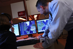 Air Medical Transport Coordinator Tracking Flights