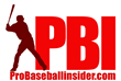 Pro Baseball Insider Logo - Free baseball instruction from the pros