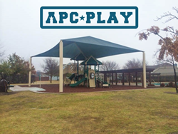 Mountain View Commercial Play Structure from APCPLAY