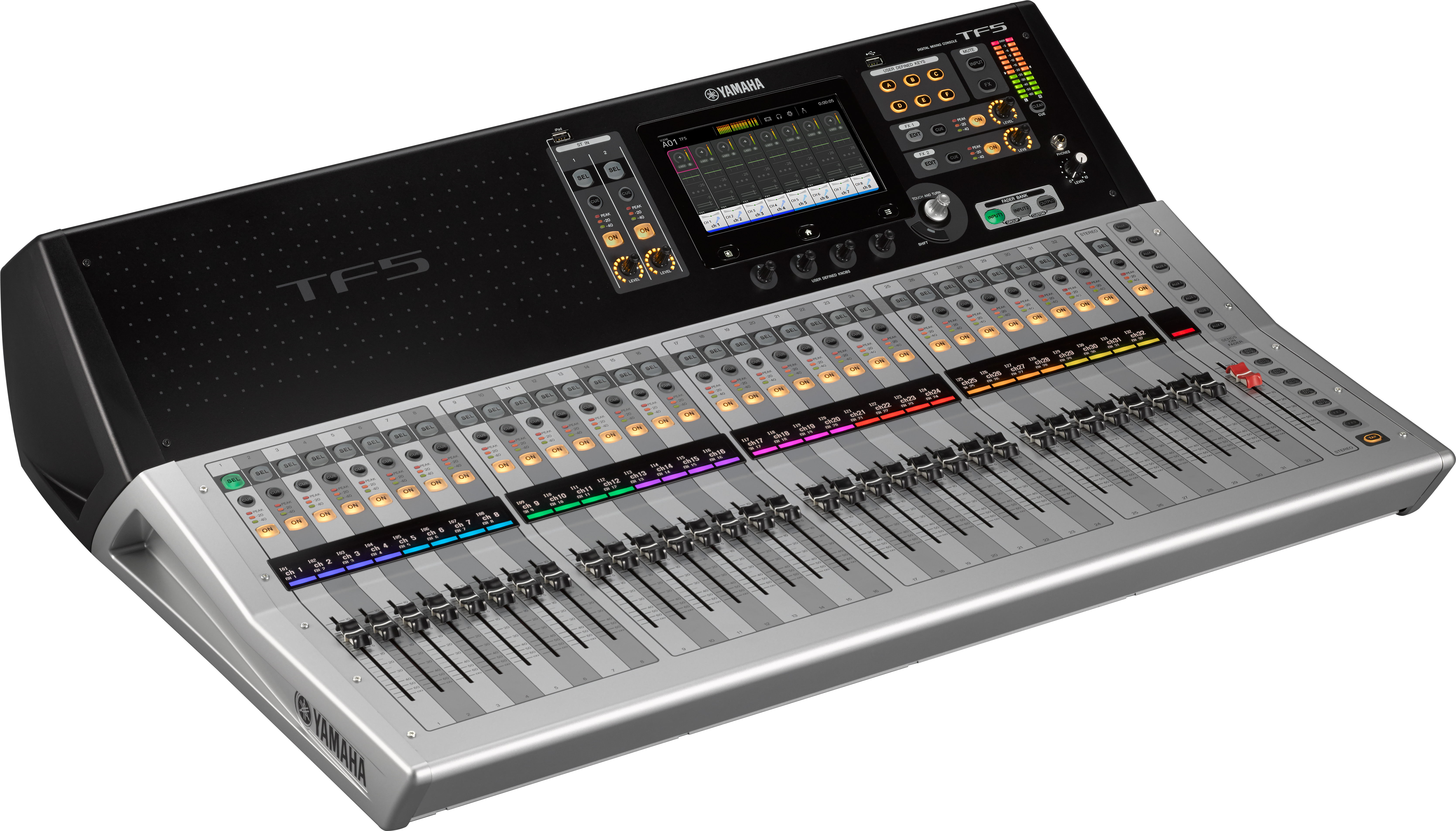 design meets intuition yamaha tf series digital consoles reimagine small to mid format mixer. Black Bedroom Furniture Sets. Home Design Ideas