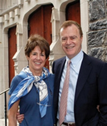 Jayme Stewart, York Prep's director of College Guidance, and Ronald Stewart, York Prep's headmaster, founded the school in 1969.