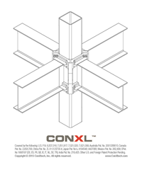 ConXtech's ConXL™ Lower & Locking™ Connector