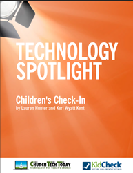KidCheck Children's Check-In Software ebook