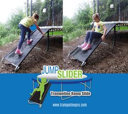 Trampoline Ladder Slide