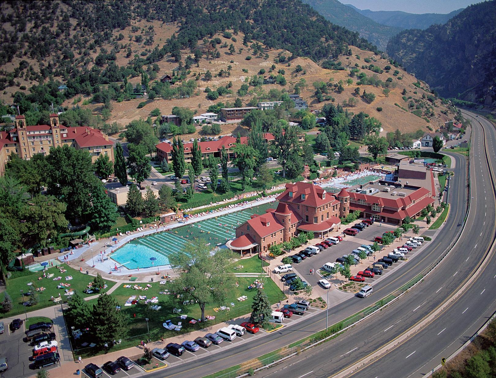 glenwood hot springs named a best hotel pool in usa today. Black Bedroom Furniture Sets. Home Design Ideas