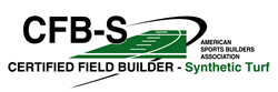 SPRINTURF Certified Field Builder