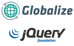 Globalize and jQuery Foundation Logos