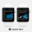 Weather Nerd App Unveiled for Apple Watch