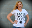 GGEC Grow Your Soul Organic Cotton Tee