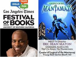 black superheroes, eric dean seaton, LA Times Book Festival