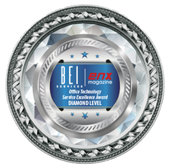 Loffler Companies Honored as Office Technology Service Excellence Diamond Award Winner from BEI and ENX Magazine
