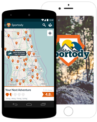 Sportody new mobile app for iOS and Android