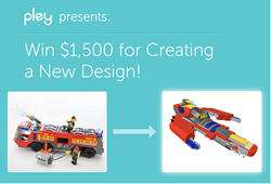 Multipley contest presented by Pleyworld.com; make an alternate build with LEGO to win $1500