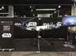 PacMin produced a 1/20 scale Boeing 787-9 All Nippon Airways aircraft exhibit model in a Star Wars R2-D2 paint scheme for the Star Wars Celebration.