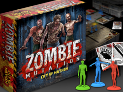 Zombie Board Game Coming To Kickstarter April 21, 2015