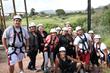 Hispanic Youth Enjoy Browns Canyon Adventure Park