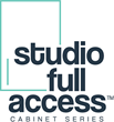 Advanta Cabinets™ Launches Frameless Studio Full Access™ Cabinet Line