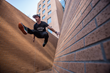 World Champion Parkour Athlete, Director and Davison Native, Cory...