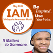 May is Ichthyosis Awareness Month. Use Your Voice.