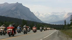 200 motorcycles traveling across America to support the Victosy Junction Gang Camp