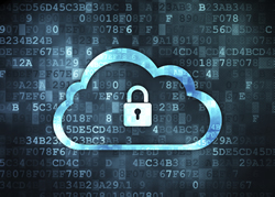 Decorative Image of Security in the Cloud